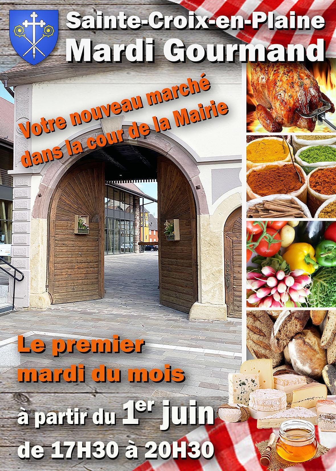Mardi Gourmand votre marché local